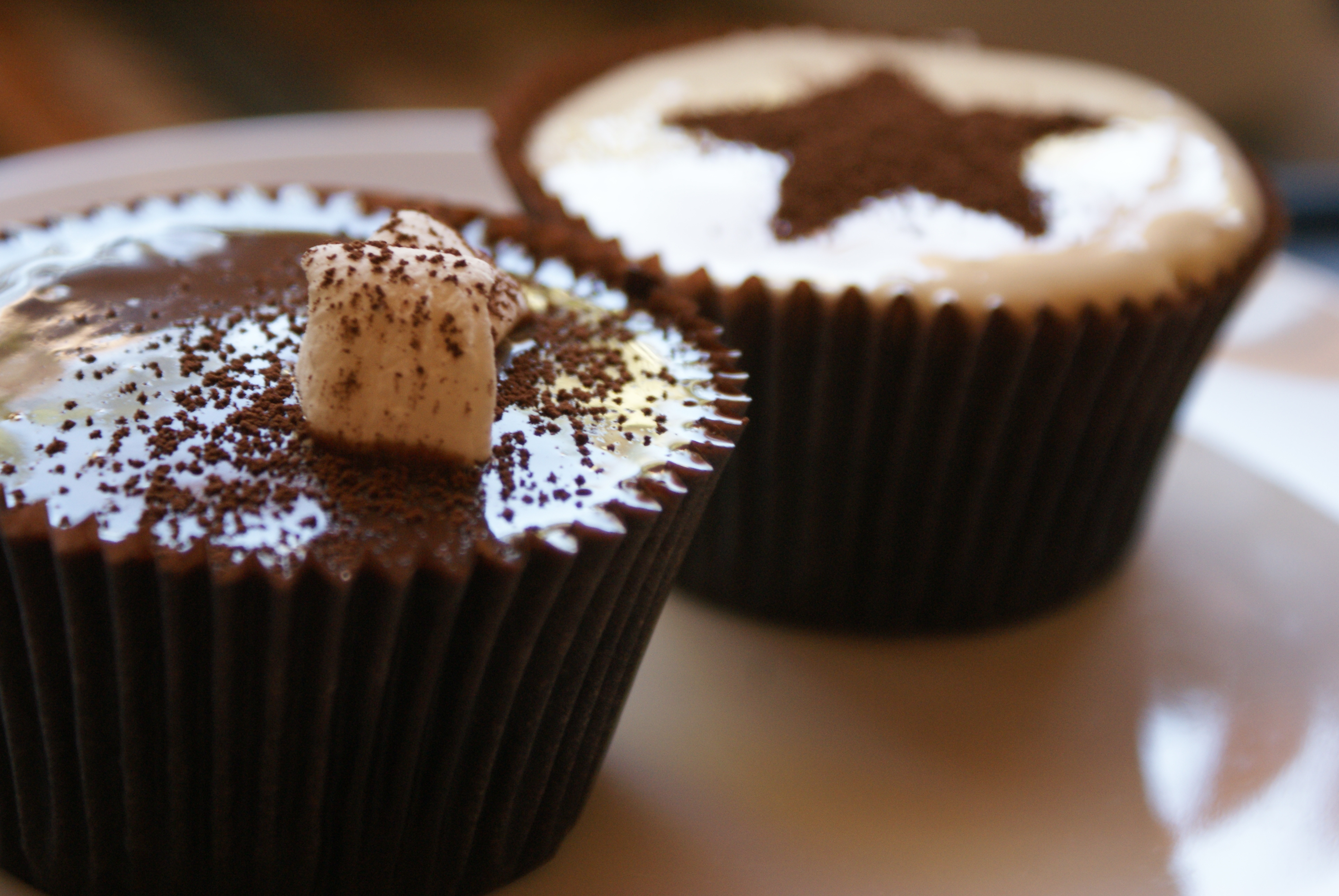 Iron Cupcake: Hot Cocoa Cupcakes… | Chocswirl